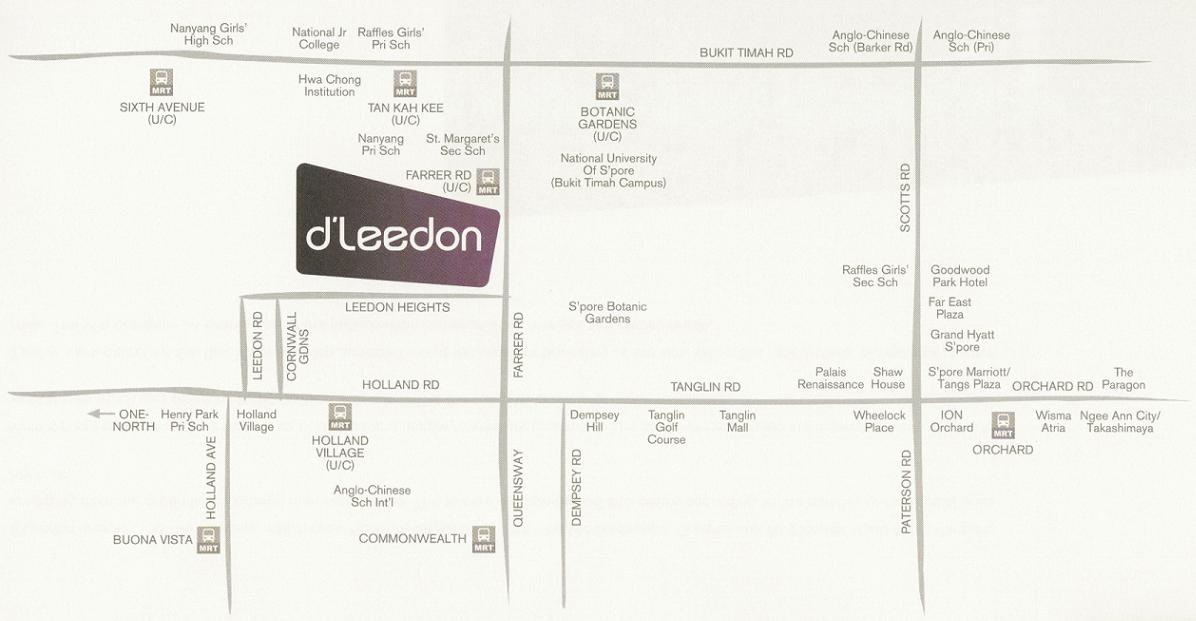 DLeedon Location & Amenities
