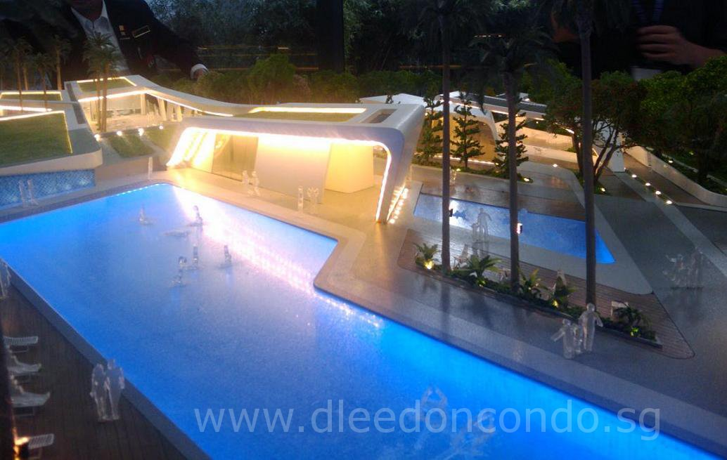 D'Leedon Condo Clubhouse Model